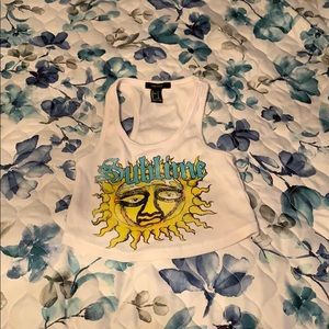 Barely Worn Sublime Crop
